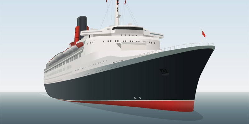 43802-VectorIllustrationOceanLiner